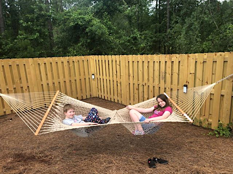 Twin Seats Butterfly Hammock photo by customer Amy Lucachick