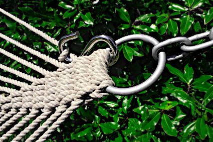 Twin Seats Butterfly Hammock harness hook detail