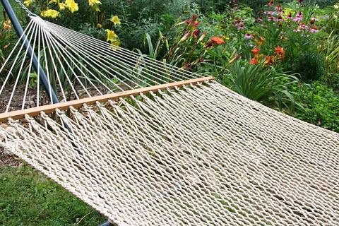Flax Silkspun Rope Hammock
