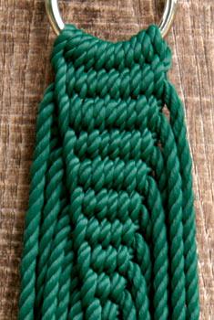 Spruce Silkspun Rope Hammock