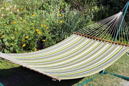 Limelite Sunbrella Quilted Hammock