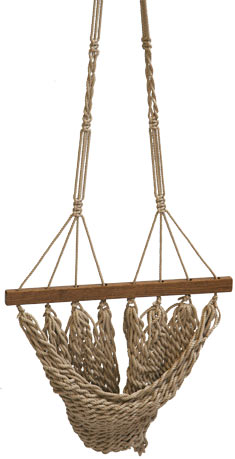 Flax Hanging Chair Footrest Accessory