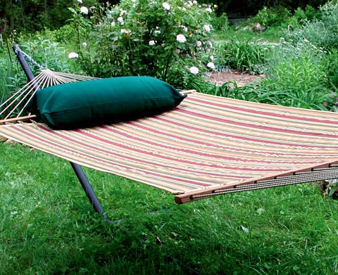 Ginger Sunbrella Quilted Hammock