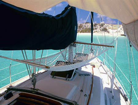 Sailboat Hammock in the shade