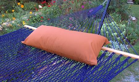 Nutmeg Sunbrella Hammock Pillow