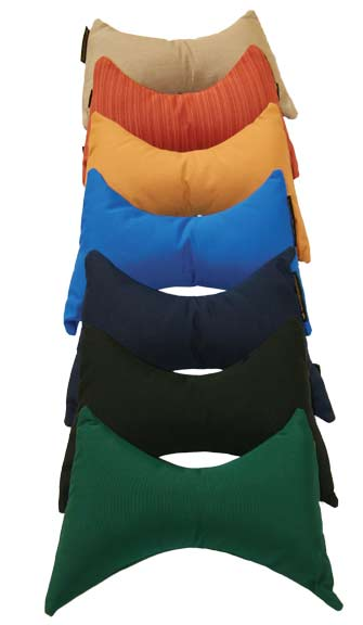 Hanging Chair Pillow Stack