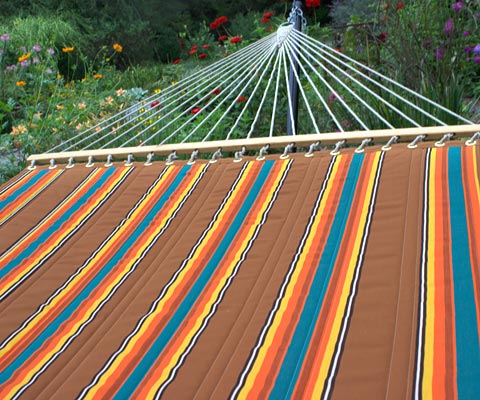 Southern Clay Sunbrella Quilted Hammock