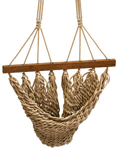 Flax Hanging Chair Footrest