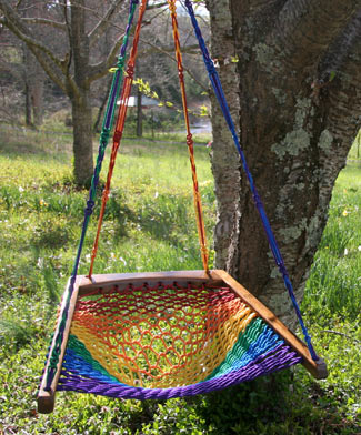 Hanging Chair - Rainbow