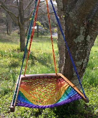 Hanging Chair - Rainbow