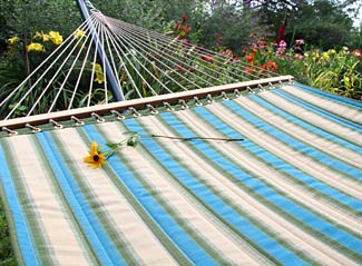 Rainforest Sunbrella® Quilted Hammock
