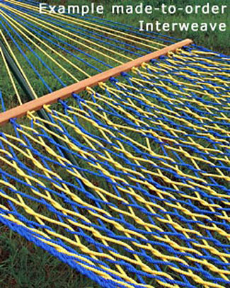 Made-To-Order Interweave Rope Hammocks