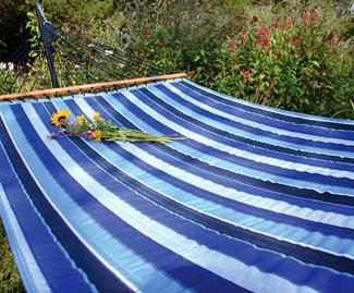 Cobalt Sunbrella® Quilted Hammock