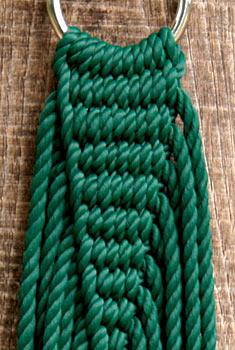 Single Sized Olefin Rope Hammocks